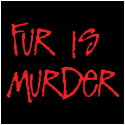 Anti Fur T-Shirts: Fur Is Murder